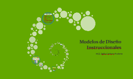 Modelos de Diseño Instruccionales (ID)