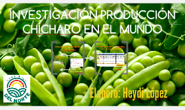 PRODUCCION MUNDIAL DE CHICHARO