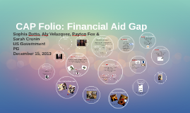 CAP Folio: Financial Aid Gap