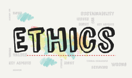 Ethics, Sustainability, and Corporate Social Responsibility