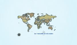 Les 7 meravelles del món modern
