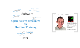 Open-Source Resources for On-Line Training