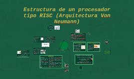 UNAD Estructura de un procesador tipo RISC
