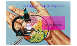 Hand Hygiene For Junior High Girls