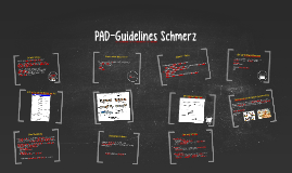 PAD-Guidelines Schmerz