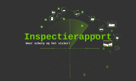 Inspectierapport