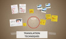 Copy of TRANSLATION TECHNIQUES
