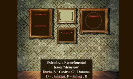 Psicologìa Experimental