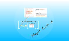 TipPrezi: How to create an event in EventBrite?