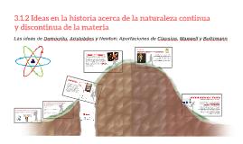 3.1.2 Ideas en la historia acerca de la naturaleza continua