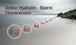 Copy of Oddur Hjaltalín - Bjarni Thorarensen