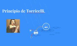 Principio de Torricelli.