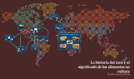 La historia del taco y los empanadas