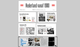 Nederland vanaf 1900