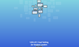 S.M.A.R.T. Goal Setting for Student Leaders