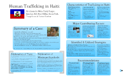 Copy of Haiti and Human Trafficking