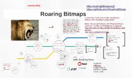 Copy of Copy of Roaring Bitmaps (January 2016)