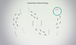 Leadership: Cultural change