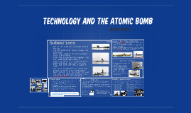 Technology and the atomic bomb
