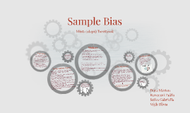 Sample Bias