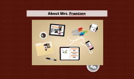 Mrs. Frantzen