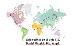 Asia y África en el siglo XIX.