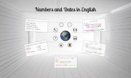 Numbers and Dates in English