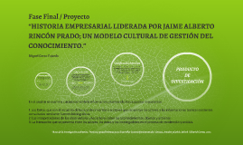 Fase Final / Proyecto