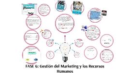 FASE 6: GESTIÓN DE  MARKETING Y LOS RECURSOS HUMANOS