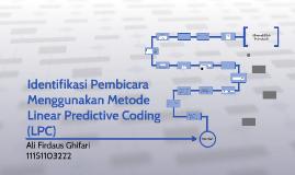 Identifikasi Pembicara Menggunakan Metode Linear Predictive
