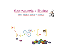 Copy of Gastronomia e Ensino 1 - Amanda