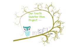 Fourth Quarter S.T.E.M Project