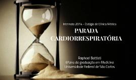 Parada Cardiorrespiratória - Internado SAI 2014