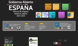 Gobierno Abierto España 2015- Hallazgos del Informe Independiente de Progreso 2014-2015