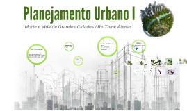 Planejamento Urbano I
