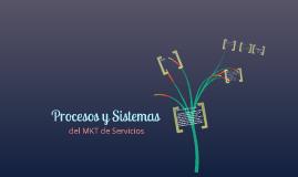 procesos y servicios del MKT de Servicios