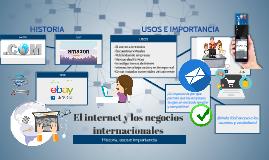 El internet y los negocios internacionales