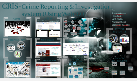 CRIS- Crime Reporting & Investigation System