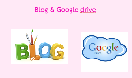 Blog y Google Drive
