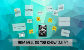 HOW WELL DO YOU KNOW JIJI ???