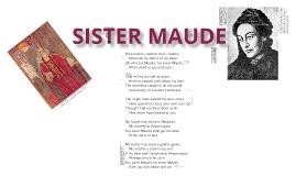 'Sister Maude' by Christine Georgina Rossetti