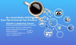 Be a Social Media #ROCKSTAR