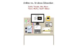 Online vs. In class