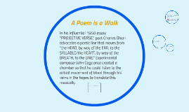 A Poem is a Walk