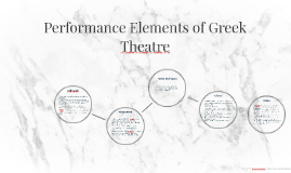 Performance Elements of Greek Theatre