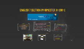 ENGLISH 7 SECTION 09 BIMESTER A 2018-2