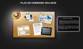 PLAN DE GOBIERNO 2014-2018