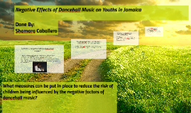 "the effect of dancehall music on The influence of music youth menu  for the strength of youth teaches that ""music has a profound effect on your mind, spirit, and behavior."