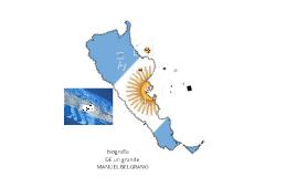 Copy of BIOGRAFÍA DE  MANUEL BELGRANO