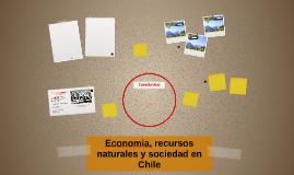 Economia, recursos naturales y sociedad en Chile